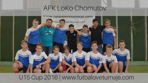 U15 AFK LoKo Chomutov v Bratislavě